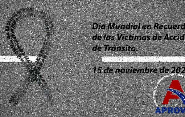 CONMEMORACÍON DÍA VÍCTIMAS DE TRÁNSITO